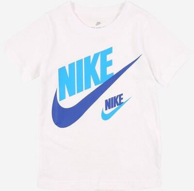 Nike Sportswear Shirt in blau / weiß, Produktansicht