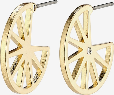 Pilgrim Boucles d'oreilles 'Kaylee' en or / transparent, Vue avec produit