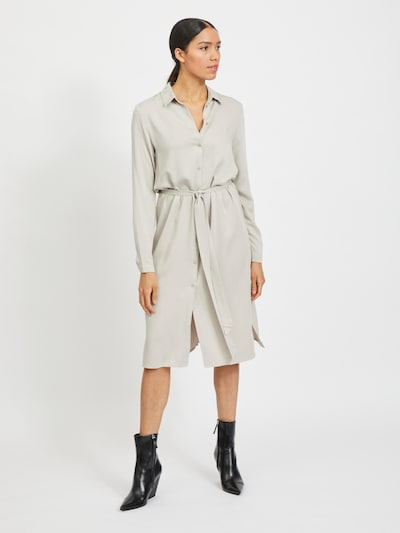 Abito camicia 'Dania' VILA di colore grigio chiaro, Visualizzazione modelli