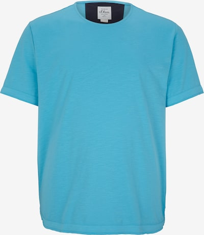 s.Oliver Men Big Sizes T-Shirt in türkis, Produktansicht