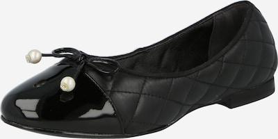 Dune LONDON Baleríny 'HAMMERSMITH' - černá / perlově bílá, Produkt