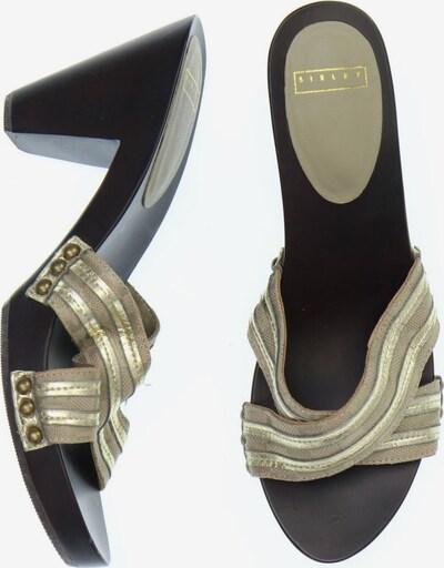 Sisley Sandals & High-Heeled Sandals in 38 in Beige / Dark brown, Item view