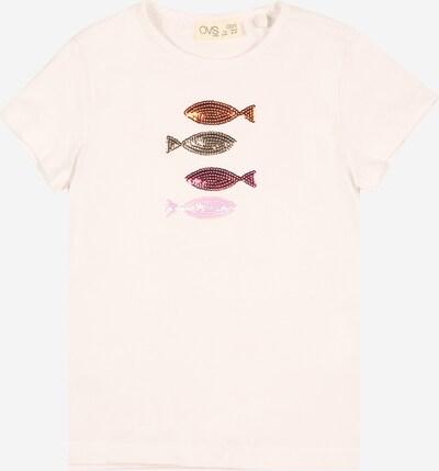 OVS Shirt in mischfarben / weiß, Produktansicht