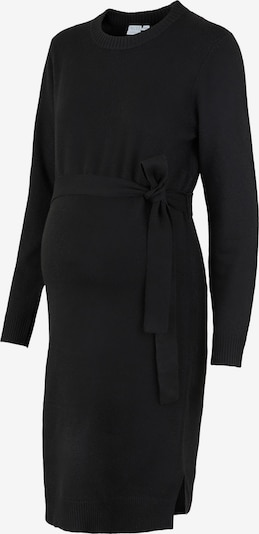 Pieces Maternity Knitted dress 'Cava' in Black, Item view