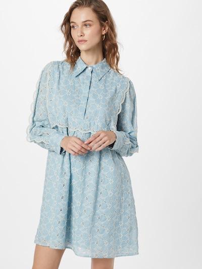 PAUL & JOE Košeľové šaty 'NICOLETTA' - svetlomodrá / biela, Model/-ka