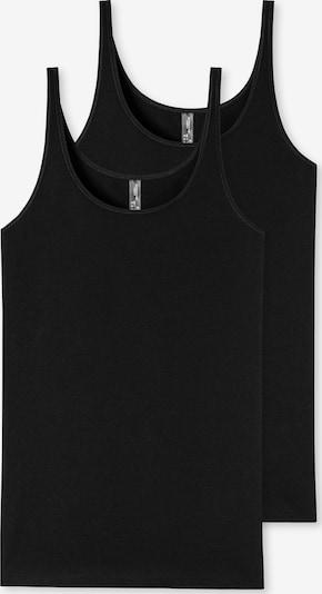 SCHIESSER Tops '95/5' in schwarz, Produktansicht