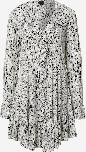 PINKO Robe-chemise 'ASTUTO' en noir / blanc, Vue avec produit
