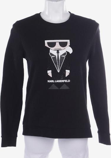 Karl Lagerfeld Sweatshirt / Sweatjacke in XS in schwarz, Produktansicht