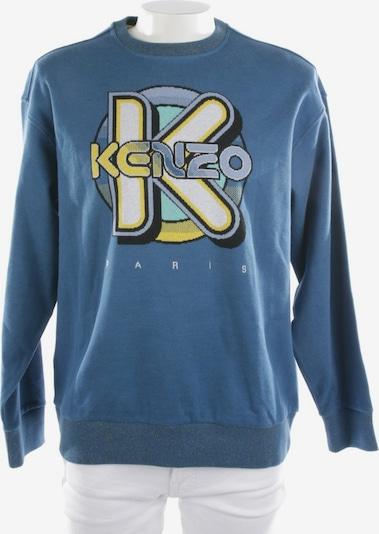 KENZO Sweatshirt   in S in blau / gelb, Produktansicht