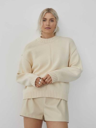 LeGer by Lena Gercke Pulover 'Kim' | bela barva: Frontalni pogled