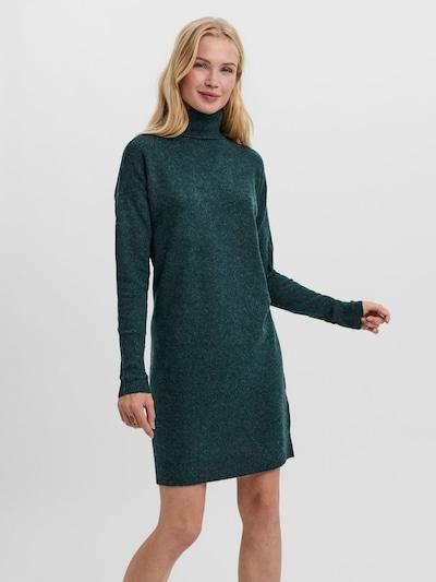 VERO MODA Strickkleid in smaragd, Modelansicht