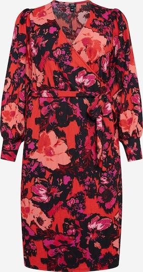 River Island Robe oversize en mélange de couleurs / rouge, Vue avec produit