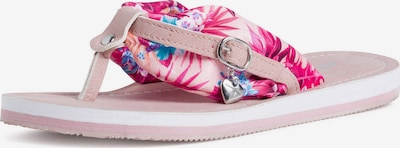 TAMARIS T-bar sandals in Light blue / Lilac / Pink / Powder, Item view