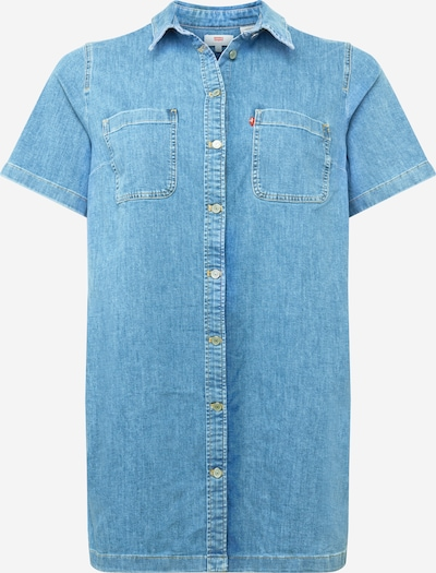 Levi's® Plus Blouse 'ANDIE' in blue denim, Item view