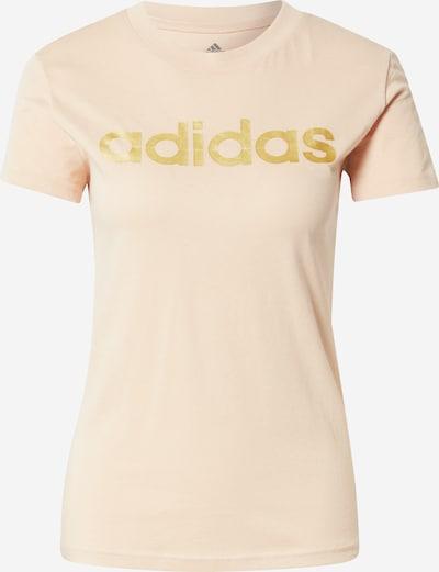 ADIDAS PERFORMANCE T-Shirt in gold / pastellpink, Produktansicht