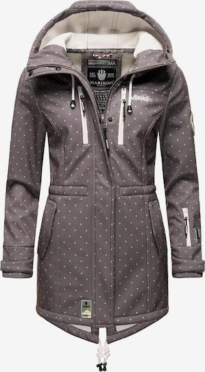 Cappotto funzionale 'Zimtzicke' MARIKOO di colore grigio / bianco, Visualizzazione prodotti
