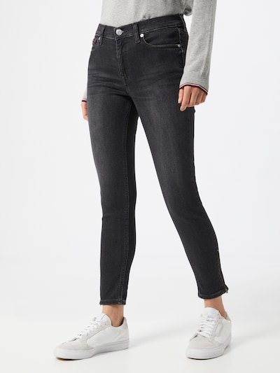 Tommy Jeans Jeansy 'Nora' w kolorze czarnym, Podgląd na modelu(-ce)