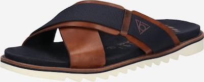 bugatti Zapatos abiertos 'Limon' en azul oscuro / cognac, Vista del producto