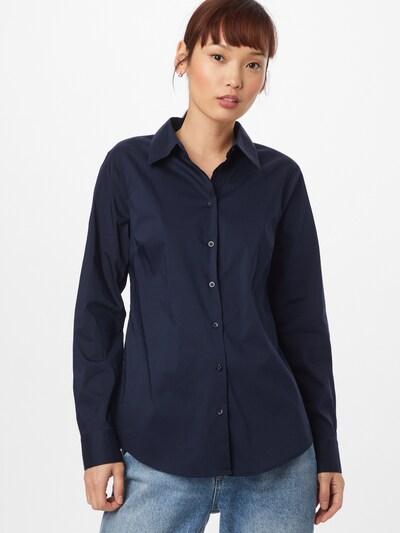 UNITED COLORS OF BENETTON Bluse in dunkelblau, Modelansicht
