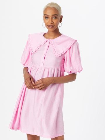 Abito camicia 'CAMI' di VILA in rosa
