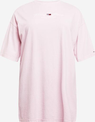 Rochie de vară Tommy Jeans Curve pe roz pastel, Vizualizare produs