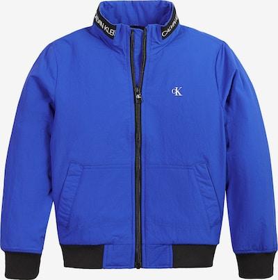 Calvin Klein Jeans Tussenjas in de kleur Royal blue/koningsblauw / Zwart, Productweergave