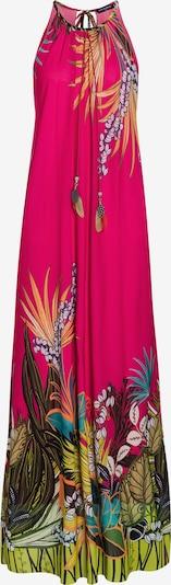 Ana Alcazar Jurk 'Dilorana' in de kleur Geel / Groen / Pink, Productweergave