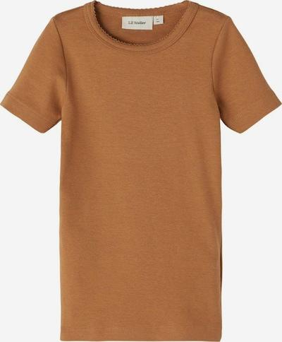 NAME IT T-Shirt en marron: Vue de face