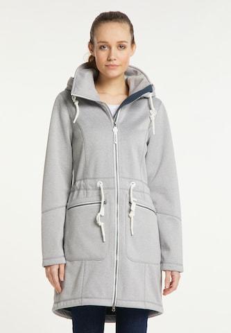 ICEBOUND Raincoat in Grey