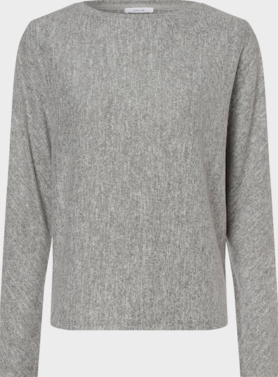OPUS Langarmshirt in grau, Produktansicht