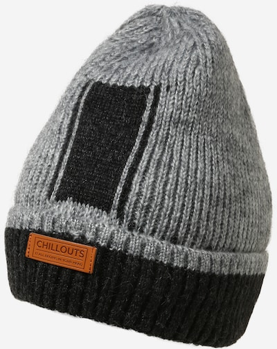 chillouts Mütze 'Boyd' in karamell / grau / schwarz, Produktansicht