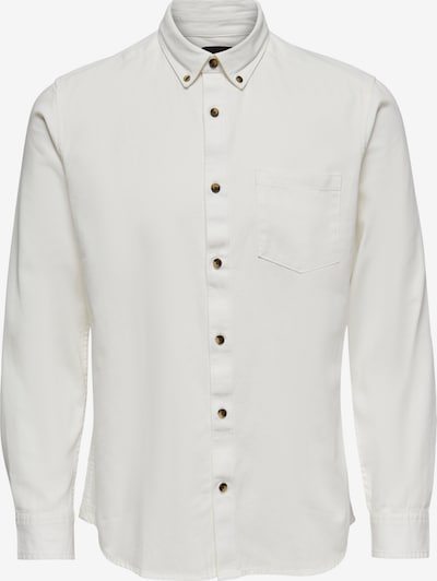 Only & Sons Shirt 'Bryce Life' in white, Item view