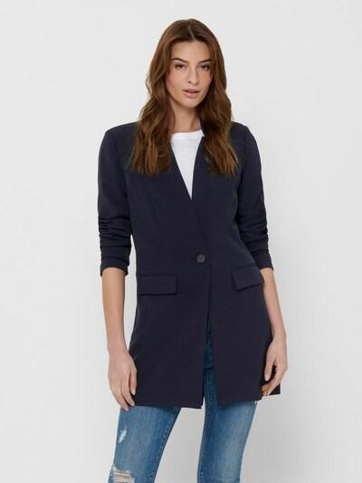 ONLY Manteau mi-saison en bleu marine, Vue avec modèle