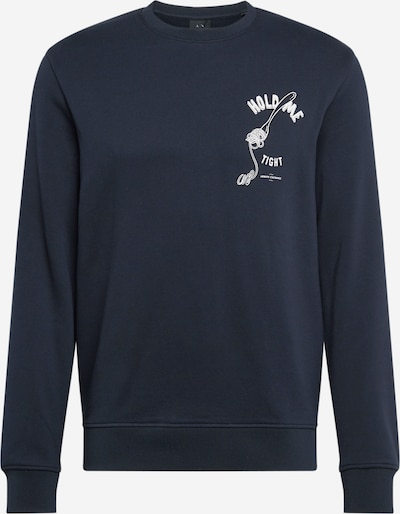 ARMANI EXCHANGE Sweatshirt in de kleur Navy, Productweergave