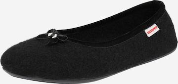Papuci de casă de la GIESSWEIN pe negru