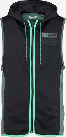 Vestă sport UNDER ARMOUR pe verde jad / negru, Vizualizare produs