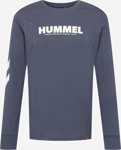 Hummel Tehnička sportska majica 'Legacy' u golublje plava / bijela, Pregled proizvoda