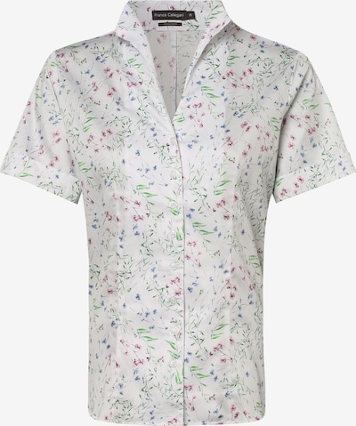 Franco Callegari Bluse in blau / dunkelgrau / grün / rosa / weiß, Produktansicht