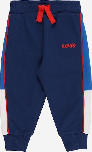 LEVI'S Pantalon en bleu marine / bleu clair / melon / blanc: Vue de face