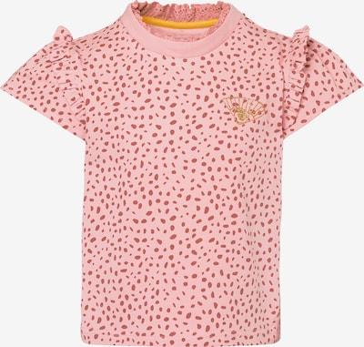 Noppies Majica 'Lorindale' | zlata / roza / pastelno rdeča barva: Frontalni pogled