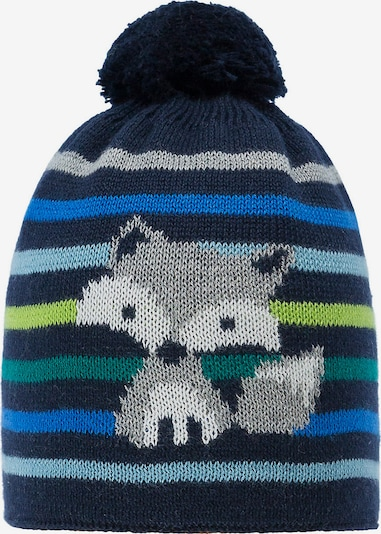 DÖLL Mütze in blau / dunkelblau / grau / grün, Produktansicht