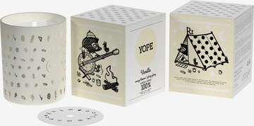 Yope Room Scent 'Vanilla & Cinnamon  Candle' in White