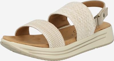 MUSTANG Sandales en beige, Vue avec produit