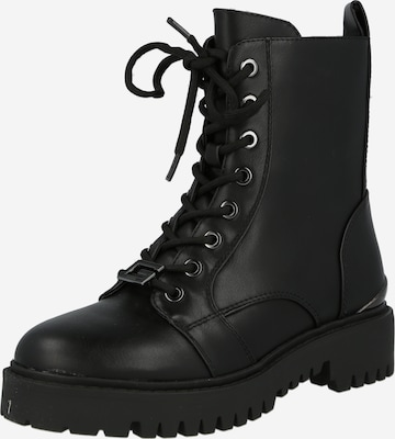 GUESS Lace-Up Ankle Boots 'Omala' in Black