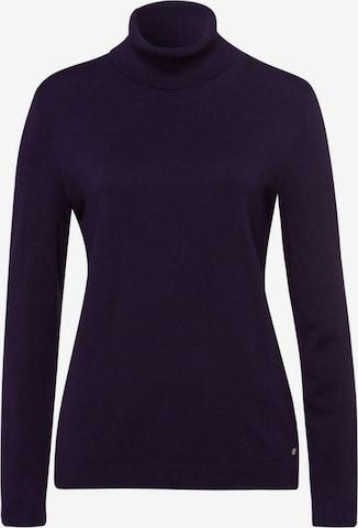 BRAX Sweater 'Style LEA' in Purple
