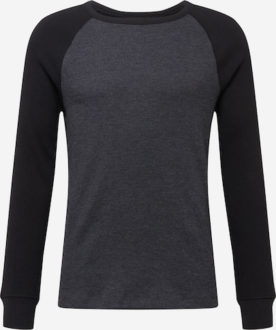 Tricou GAP pe gri închis / negru, Vizualizare produs