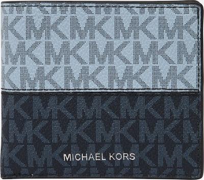 Michael Kors Porte-monnaies en bleu clair / bleu foncé, Vue avec produit