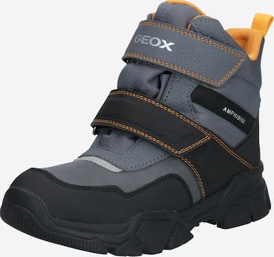 GEOX Stiefel 'NEVEGAL' in gelb / grau / anthrazit, Produktansicht