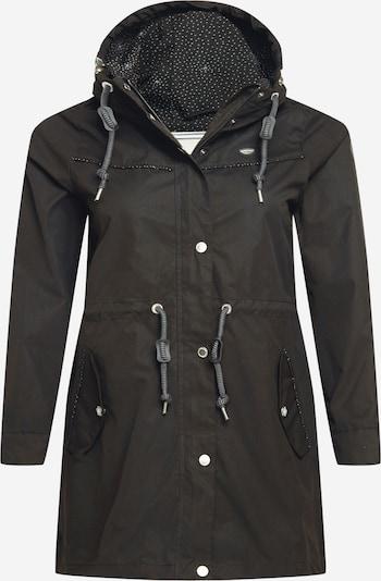 Ragwear Plus Prehoden plašč | črna barva, Prikaz izdelka