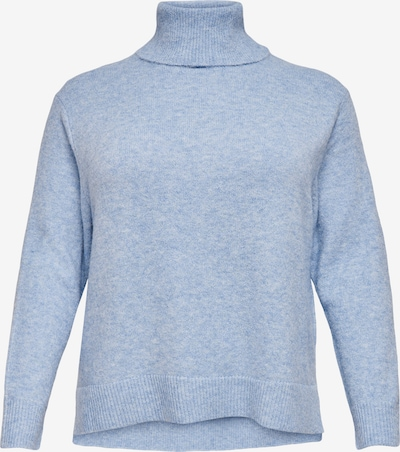 ONLY Carmakoma Trui 'Rabbi' in de kleur Smoky blue, Productweergave